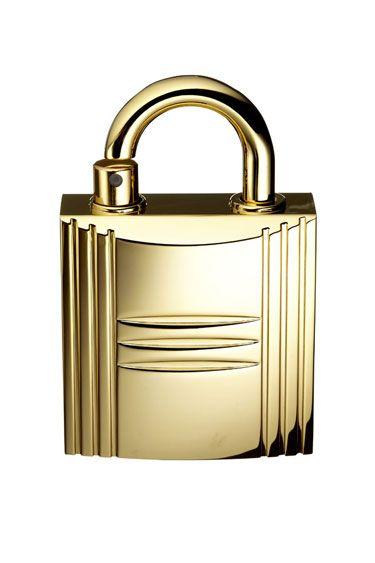Hermes the Padlock perfume atomizer