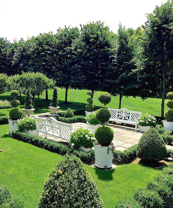 Formal Garden Design Idea: 348 Best Formal Landscaping Ideas Images On Pinterest