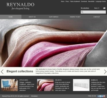 Reynaldo textiles distributor  www.reynaldo.nl