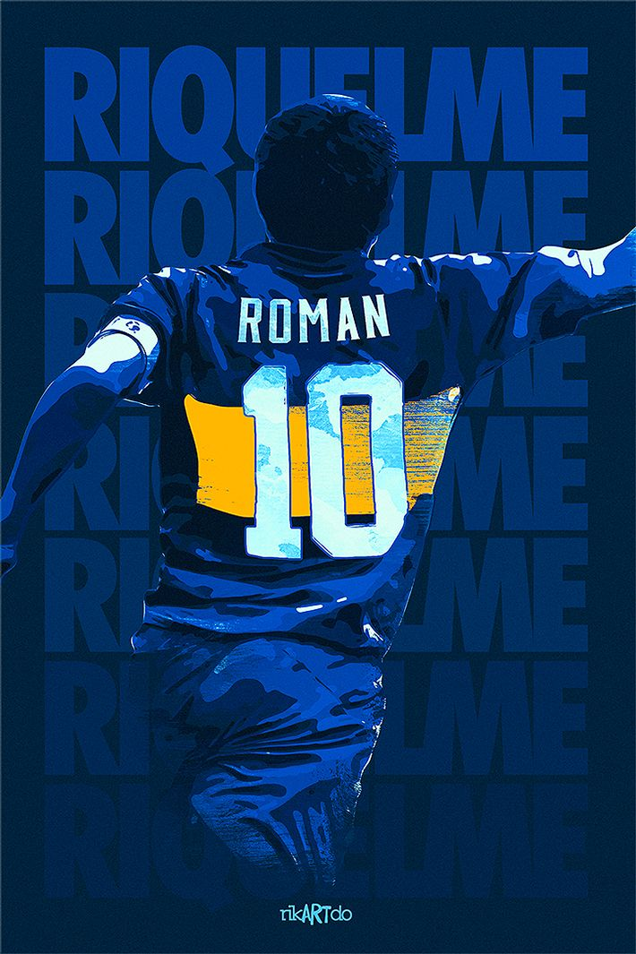 Juan Roman Riquelme - Boca Juniors - ❶⓿