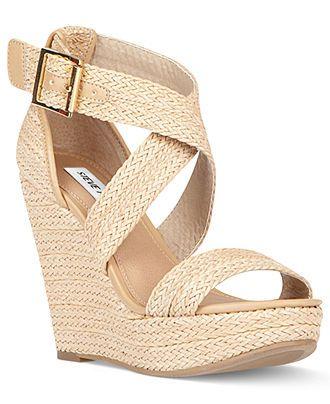 Steve Madden Shoes, Haywire Platform Wedge Sandals - Espadrilles & Wedges - Shoes - Macys