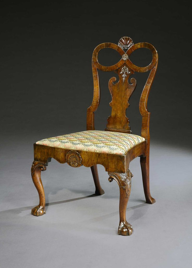 Best A George I Walnut Side Chair A Fine Rare George I 400 x 300