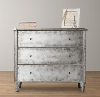 Use as bedside tables in master ava dresser dressers for Restoration hardware bedside tables
