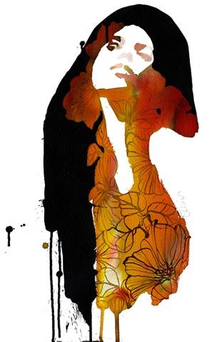 BALENCIAGA | Stina Persson #watercolor   #illustration