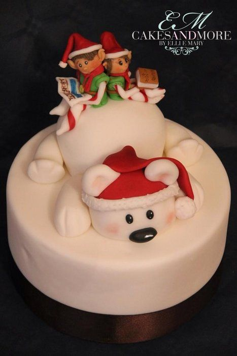 Elves cake - by cakesandmore @ CakesDecor.com - cake decorating website                                                                                                                                                                                 More