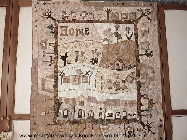 100% Hand made quilt, without sewing machine :) My own project