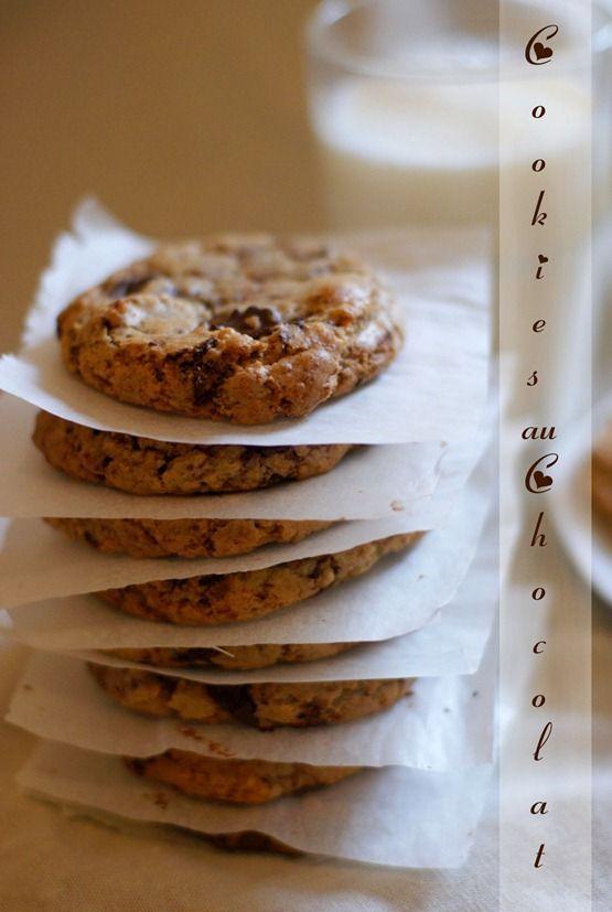 cookies au chocolat moelleux et parfaits bonjour tout le monde, qui ne rêve pas de plonger un...