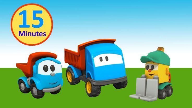 Cartoni Animati per Bambini - Amici di Leo il Camion Curioso - 15 minuti