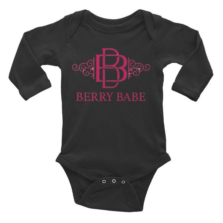Infant Berry Babe Long Sleeve Bodysuit