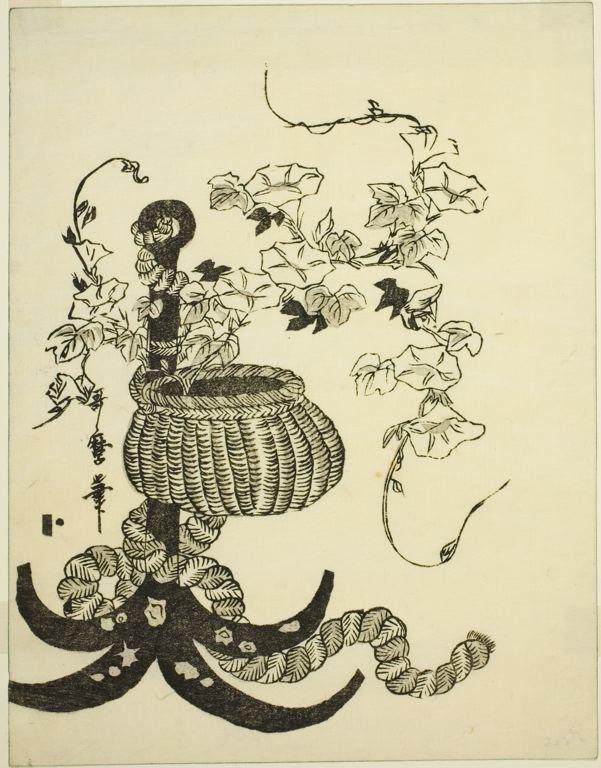 Kitagawa Utamaro Japanese, 1753 (?)-1806, An Arrangement of Morning Glories (Asagao)