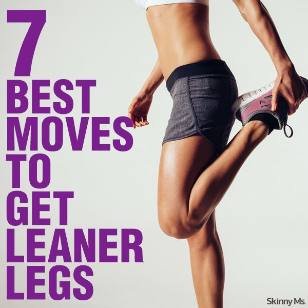 7 Best Moves To Get Leaner Legs