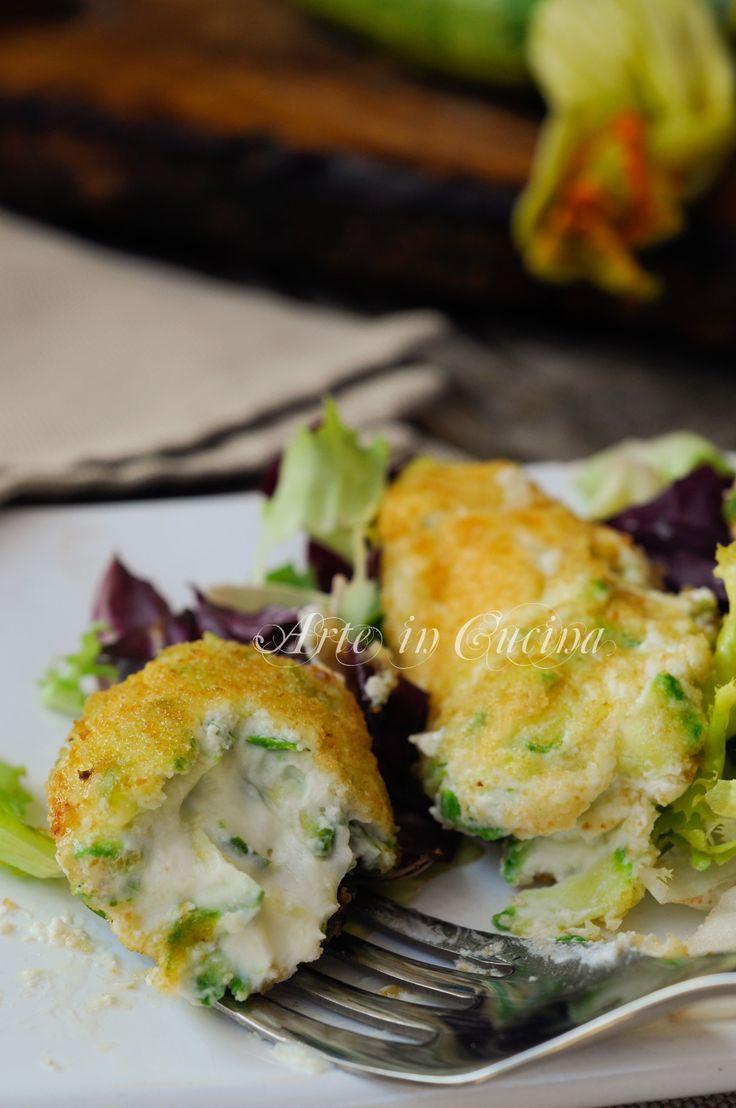 Crocchette di ricotta e zucchine senza uova vickyart arte in cucina