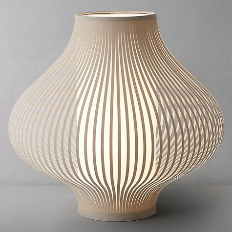 John Lewis Harmony Ribboned Table Lamp #JLhome #johnlewishome