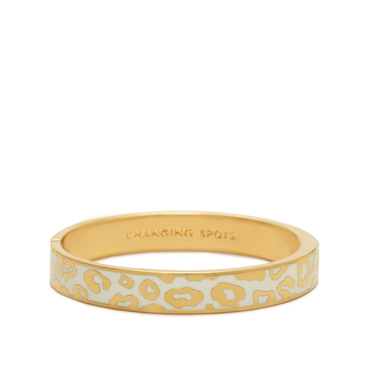 product: Changing Spots, Spots Hinges, Ks Bangles, Spade Bangles, Spots Bangles, Spade Changing, Animal Prints, Kate Spade, Hinges Bangles