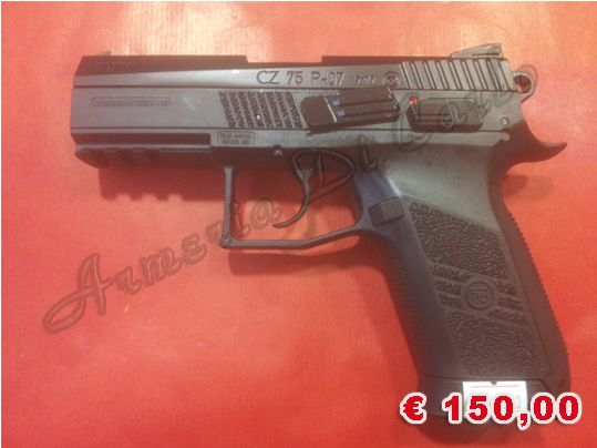 A-0018 NUOVO http://www.armiusate.it/armi-ad-aria-compressa-softair/pistole-co2-gas/asg-cz75-p-07-calibro-4-5-177_i71034