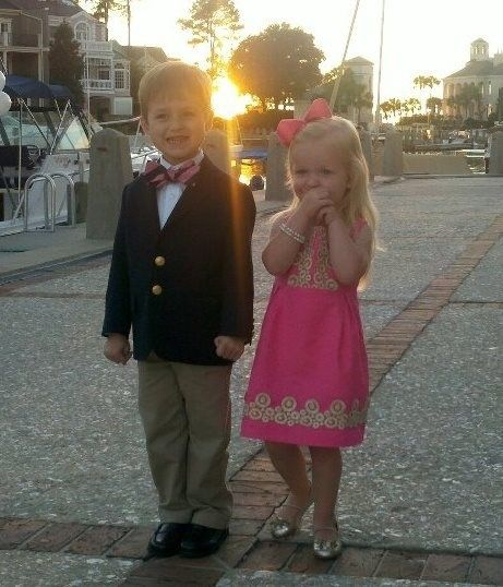 shmaddieshmay:    savedbysoutherncharm:    FUTURE flower girl and ring bearer? I THINK SO.    future kiddssss