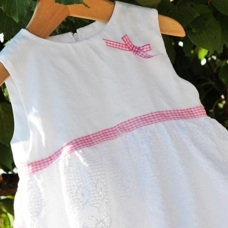 Χειροποίητο βαπτιστικό φόρεμα