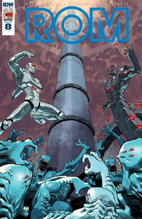 ROM n°8 (29.03.2017) // Other Space Knights have arrived on Earth… two warriors with ties to ROM's past and who are determined to ensure that the DIRE WRAITHS have no future… even if it means destroying the planet along with them!  #rom #idw #publishing #comics