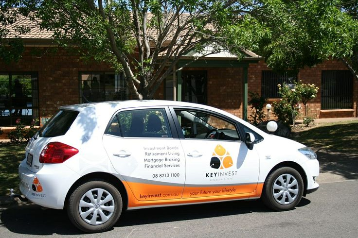 Branded KeyInvest vehicle at McLaren Vale Lodge