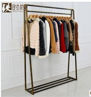 110£ A sub type iron clothes rack hanger rack clothes rack clothing store clothing store dedicated shipping-in Metal Tables from Furniture on Aliexpress.com | Alibaba Group
