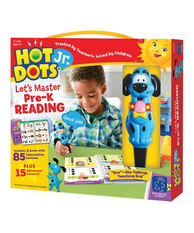 Take a look at this Hot Dots Jr. 'Let's Master Pre-K Reading' Set by Hot Dots on #zulily today!