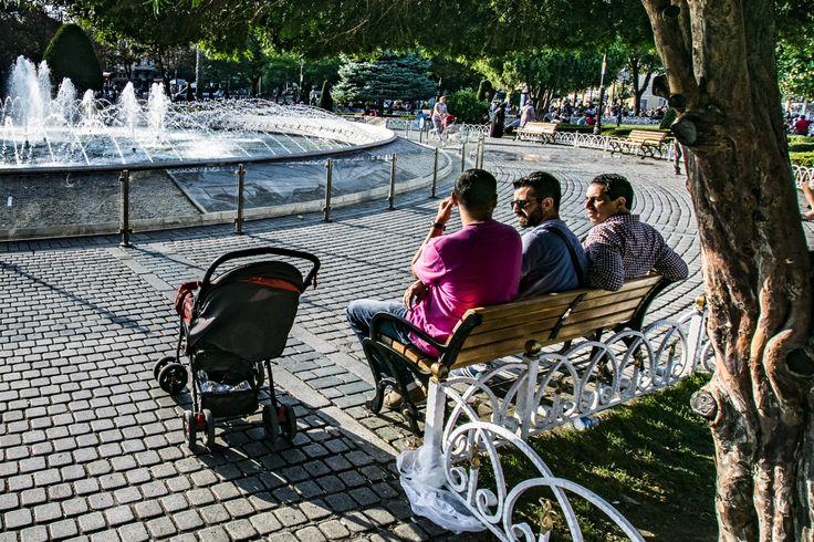 Sultan Ahmet Parkı, Istanbul, Turkey