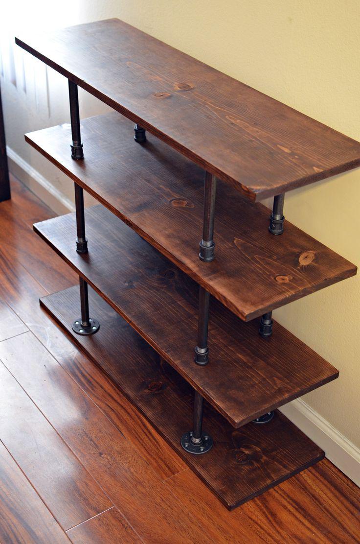 best 25 homemade shoe rack ideas on pinterest cheap wooden tv stands eclectic shoe rack and diy industrial shelf