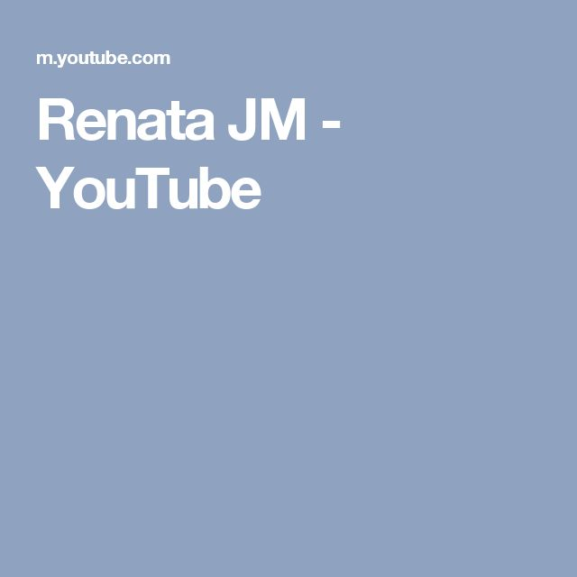 Renata JM - YouTube