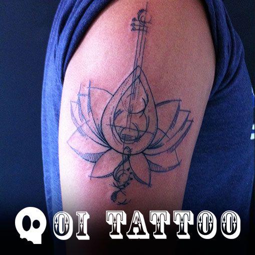Tatuagem Exclusiva de Música  Renato,  Foi incrível poder fazer esta tatuagem especialmente para você!  #TatuagemExclusiva #TatuagensExclusivas #Tatuagem #Tatuagens #Tattoo #Tattoos #Ink #Inked #BoyTattoo #Boy #BodyArt #Art #Arte #FineLine #FineLineTattoo #SãoPaulo #Brasil #TattooSP #SP #Music #MusicTattoo #Música #Banda #Som #Violão #Guitar #GuitarTattoo #Tattoolife #TattooStyle  Muito obrigada!