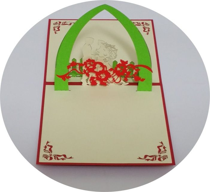 Wedding Day 3 - 3D Pop Up Cards - Greeting Cards - Ovid Gifts