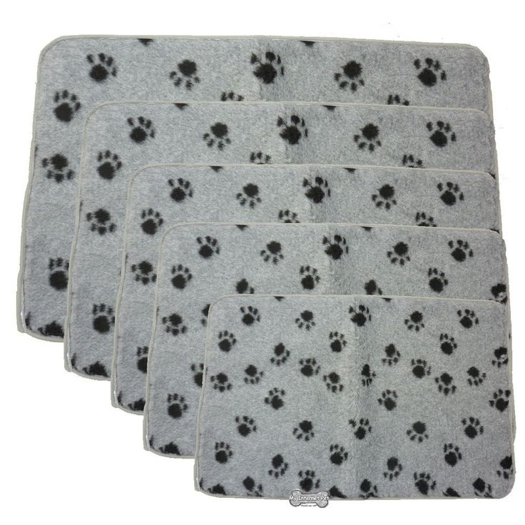Dog Beds Vetbed Style Mat Bedding Crates Puppy Cages Cats Bed Cover Hemmed Grey