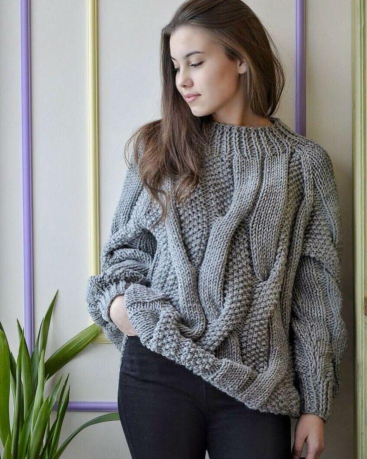свитер ручной купить