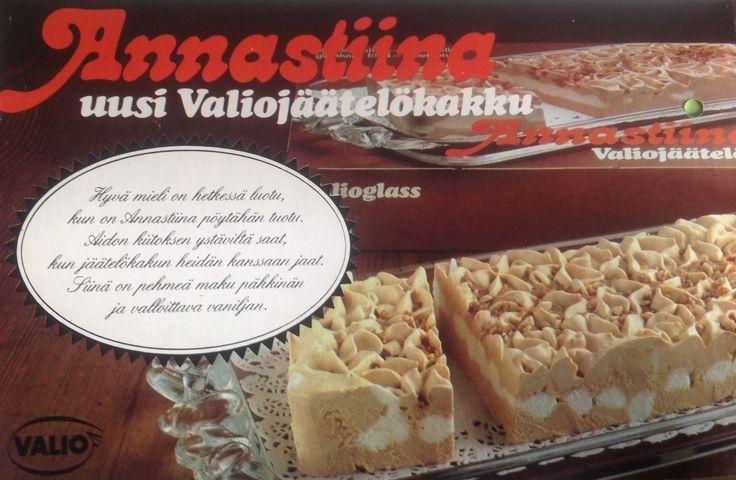 Annastiina valio jäätelökakku mainos