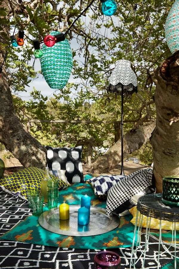 the ikea summer collection has everything you need to enjoy your summer retreat soft cushions