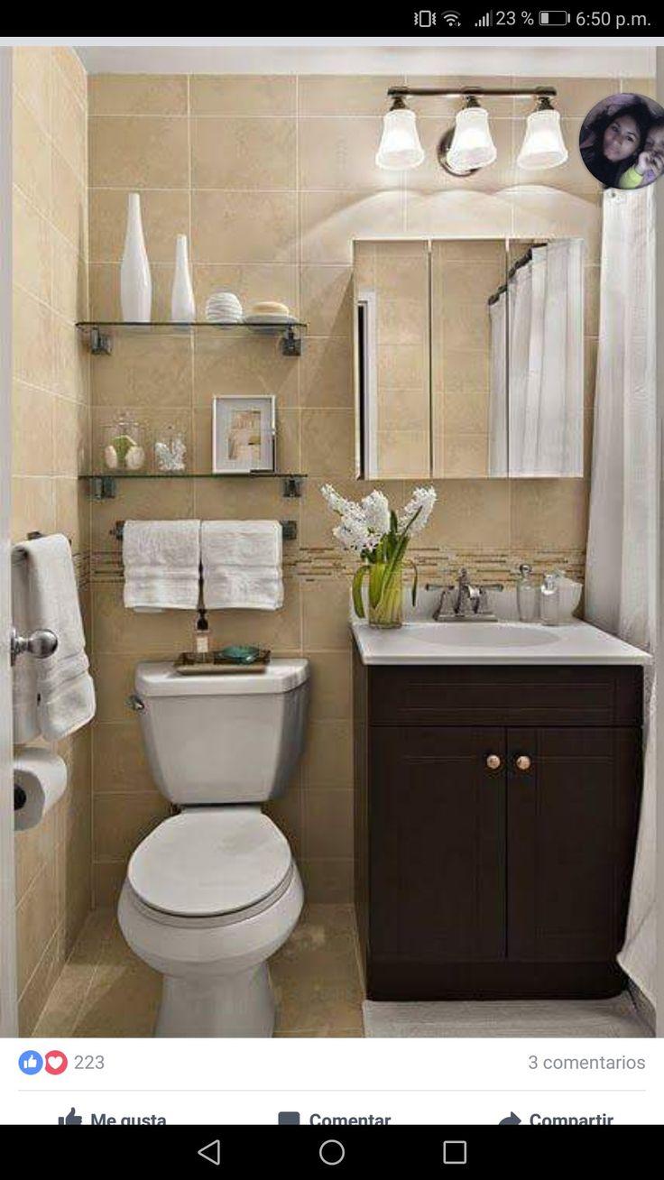 Diseño de baños pequeños con ducha
