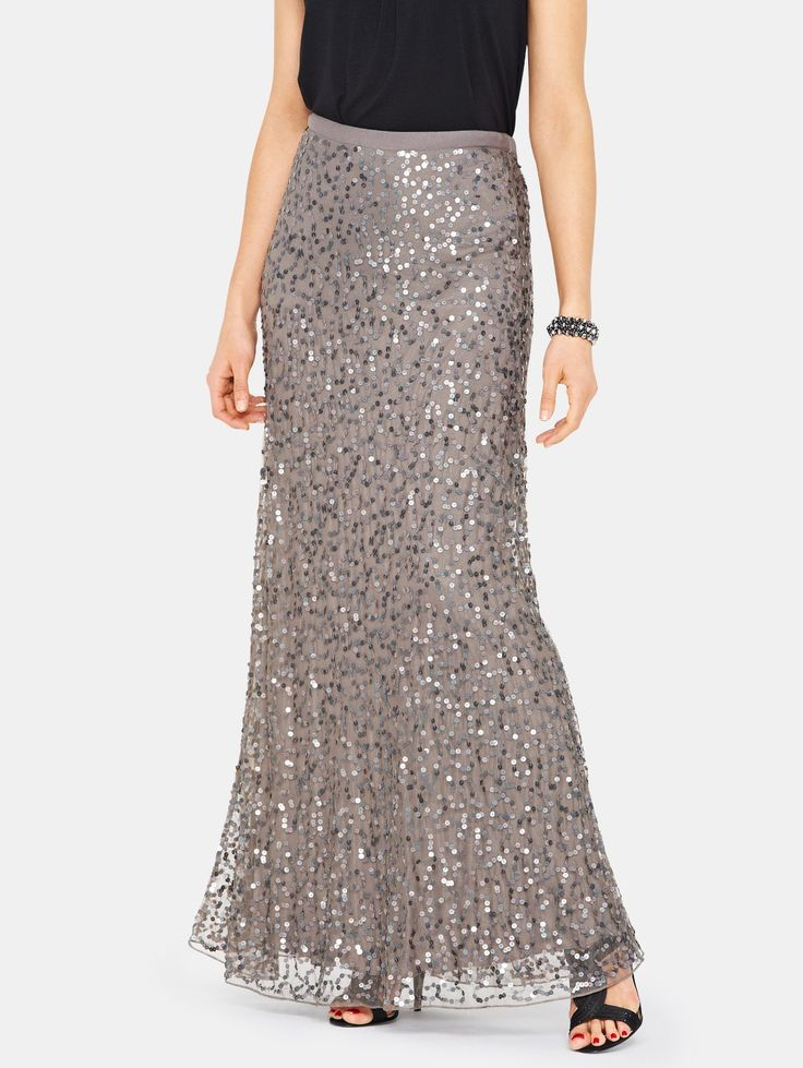 1000 ideas about sequin maxi skirts on sequin