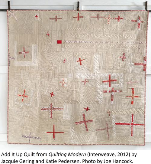 add it up quilt from quilting modern by jacquie gering and katie pedersen