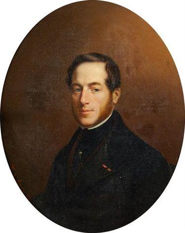 François de La Cour, 5e. Marquis de Balleroy (1796 - 1875).