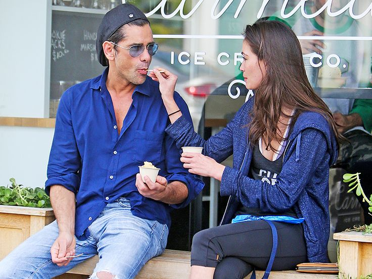 John Stamos Is Dating Model and Actress Caitlin McHugh: See Their Sweet Ice Cream Date
