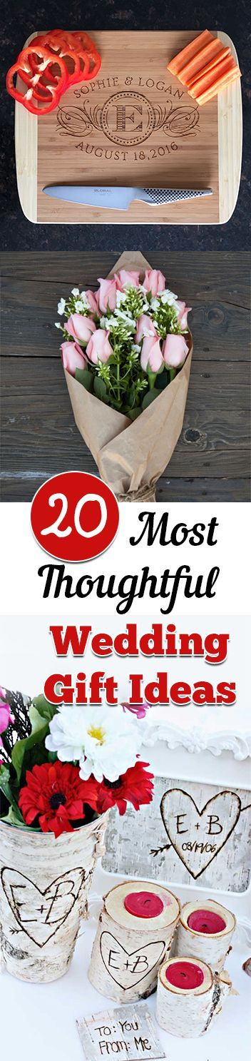 20 Most Thoughtful Wedding Gift Ideas. DIY, DIY Home, DIY gift, holiday gift ideas, wedding gifts, wedding ideas, wedding favors.