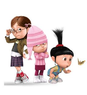 for halloween this year (to old to go but love this idea) i go as margo, mackenzie goes as edith, kenadee goes as agnes! that would be perfect!