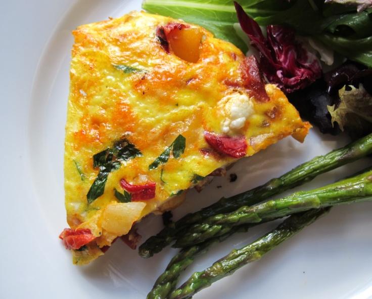 spanish frittata | Eggs | Pinterest