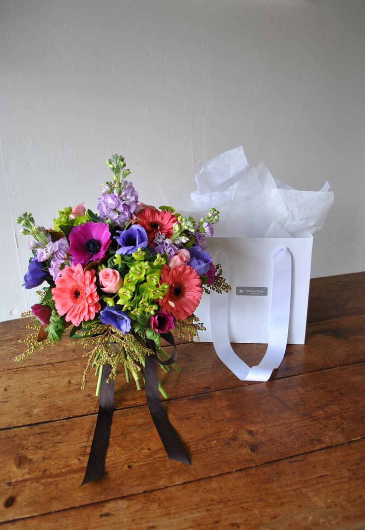 Posy In Carry Bag by white tree floral design