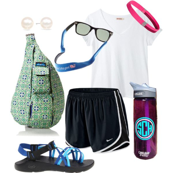 i have all things in this outfit except the camelbak, i stick to my nalgene. this is a typical outfit for camp. cant wait.