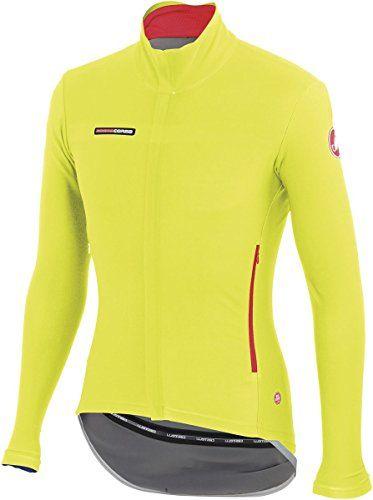 Castelli Gabba 2 Long Sleeve Jersey - Yellow Fluo 2bbe07521