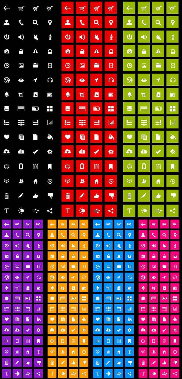 Free Metro Icons