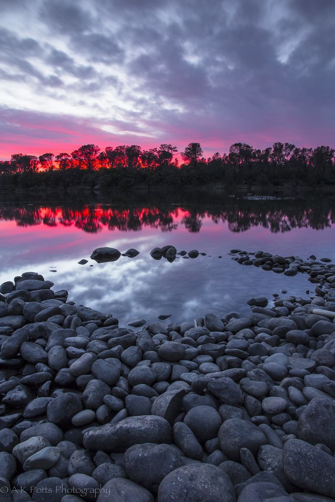 ~~Lake Natoma Afterglow | Sunset at the Folsom Lake State Recreation Area, Sacramento County, California by A-scape~~