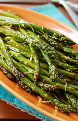Fresh lemon and taco seasoning give oven-roasted asparagus the light and zesty flavor that makes this Mexican Roasted Asparagus recipe perfect for your next family get-together.