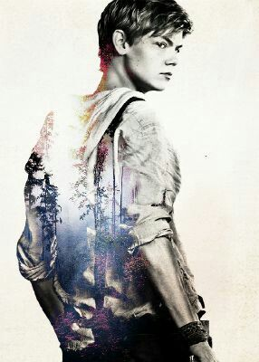 The Maze Runner: Newt. Fan art. (W.I.C.K.E.D. COOL!! Pun totally intended.....hehehe. xD)