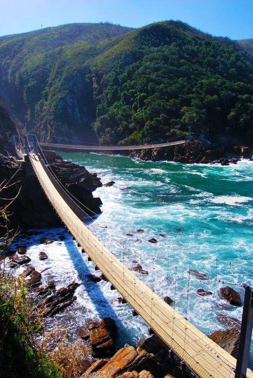 Bridge South Africa,Tsitsikamma National Park.